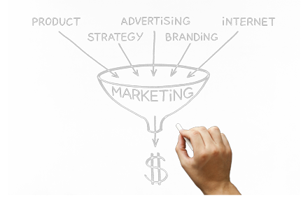 Online Marketing Funnel Image