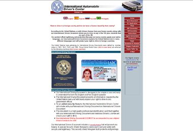 International Automobile Drivers License Before Re