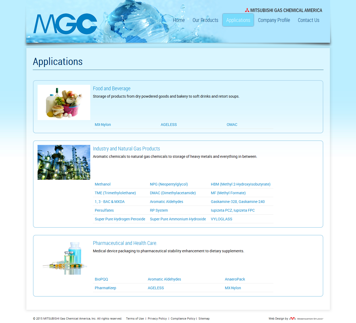 MGC site design blog